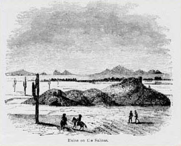 Ruins on the Salinas 1850s